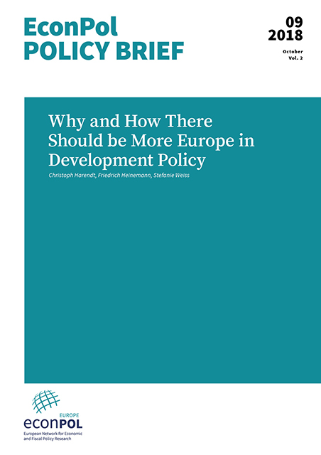 Cover of EconPol Policy Brief 9