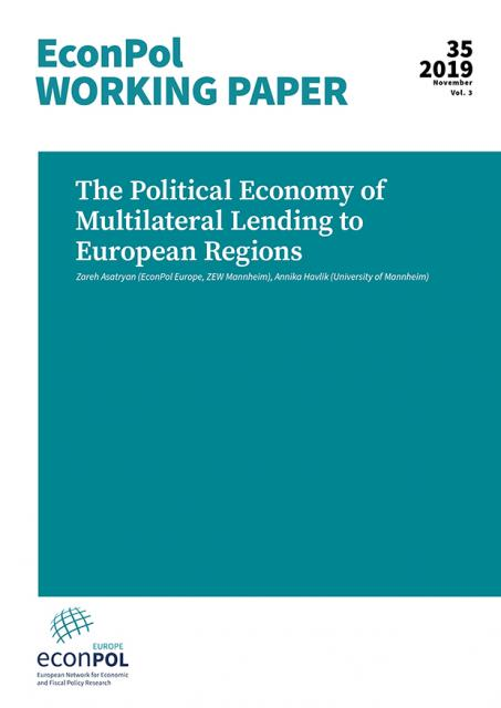 Cover of EconPol Working Paper 35