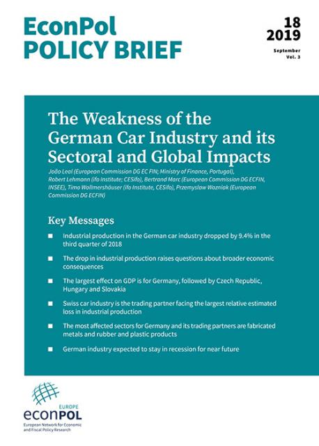 Cover of EconPol policy brief 18
