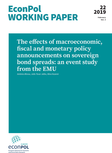 Cover of EconPol Working Paper 22